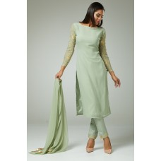 IDCE-432 MINT GREEN INDIAN PAKISTANI ETHNIC SALWAR SUIT