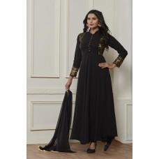 BLACK READY MADE ABAYA STYLE DRESS