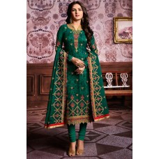 RAMA GREEN INDIAN ETHNIC STYLE CHURIDAAR SUIT