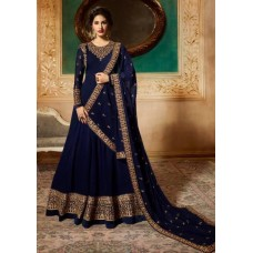 NAVY BLUE INDIAN WEDDING & PARTY WEAR READY MADE GOWN