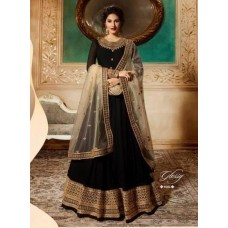 BLACK INDIAN READY MADE LONG PARTY WEAR GOWN