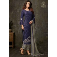 BLUE INDIAN PARTY READY MADE SALWAR SUIT