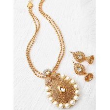 IDC-JS2 MARVELOUS GOLD NECKLACE SET