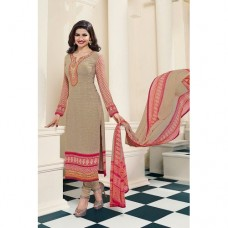 4565 BEIGE KASEESH SILKINA ROYAL CREPE PARTY WEAR SUIT