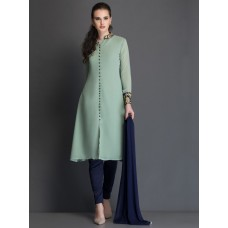 IDC-12 PISTA ELEGANT POLYESTER FABRIC READY MADE SALWAR KAMEEZ SUIT