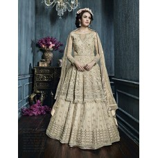 22007 GOLD ZOYA CELEBRITY HEAVY EMBROIDERED INDIAN BRIDAL WEDDING LEHENGA