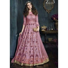 22001-C PINK HEAVY EMBROIDERED INDIAN BRIDAL WEDDING READY MADE LEHENGA