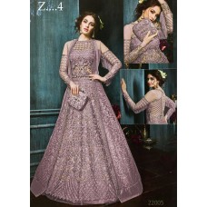 22003-A LILAC EMBROIDERED INDIAN BRIDAL WEDDING READY MADE LEHENGA