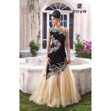 BLACK AND GOLD AWESOME LEHENGA