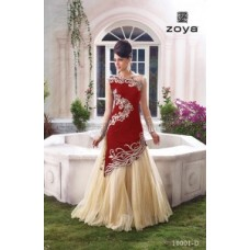 RED AND GOLD APPEALING LEHENGA