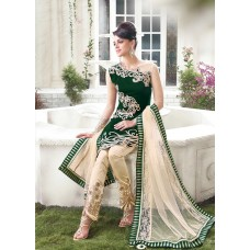 GREEN AND GOLD READY MADE SUIT ZE10001