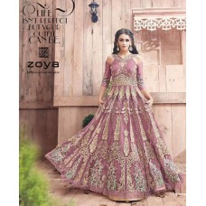 21002 ZOYA ENGAGED LIGHT PLUM HEAVY EMBELLISHED GOWN