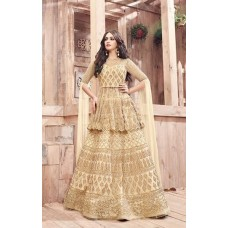 21001 ZOYA ENGAGED GOLD HEAVY EMBELLISHED GOWN